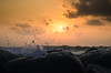 New Begining (Ivon Murugesan) Tags: beach cloud clouds india mahabalipuram mamallapuram ocean sea seashore seasside sky water waterscapes waves places travel letsexplore sun nature landscape sunshine sunrise sunlight drops droplets ivonmurugesan