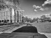 Shadow of a Horseman (Tawny042) Tags: shadow london city urban cloud hydeparkcorner monochrome hx90 sony