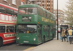 966, THX 312S, Leyland Fleetline (t.1995) (Andy Reeve-Smith) Tags: damilerfleetline daimler daimlerfleetline leyland b20 dms dms2312 thx312s 966 londontransport centralarea lt stuartpalmer dunstable bedfordshire beds lutondistrict ld ldt britishbus theshires arriva arrivatheshires luton mcw mcwbody