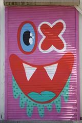 shuttered (RobertsNL) Tags: 7daysofshooting week35 streetartgraffiti colourfulthursday