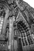 Cologne Cathedral (norm.edwards) Tags: cathedral cologne dramatic foreboding gothic impressive drama blackandwhite germany business meeting details design windows stainedglass tall ceilings imposing city square stone brick culture religion