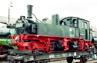 DR 99 1562-0 (ex 99 562; ex K.Sächs.Sts.E.B. IV K 152; Hartmann 1909; Reko Raw Görlitz 11.02.1964) IG Preßnitztalbahn lw. DDM Neuenmarkt(Ofr.)