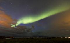 Nothern lights (HellAir) Tags: 2017 hvanneyri iceland islande northernlight vesturland aurora auroreboréale mars night sky winter
