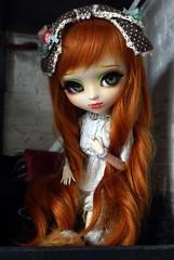 Litchi (Lunaria Nfield) Tags: pullip fc ovies dolls alice du jardin wig carot rousse pullips full custo custom eyes green vert doll