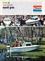1961 Glasspar Boat Ad (aldenjewell) Tags: 1961 glasspar del mar cruiser boat ad