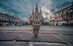 Danbo in Saint Joseph's church,Krakow (Vagelis Pikoulas) Tags: day danbo krakow poland europe travel landscape city cityscape square town view church sky skyscape clouds cloudy tokina 1628mm holidays november autumn 2017