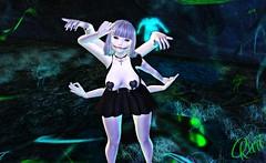 Ghost  Doll (RuriMoon) Tags: ghost arms ai anime manga art animehead albino queen glutz cruz pixie secondlife sugoii sexy skin sugar sl white wikka cute catwa candy cutegirl cureless