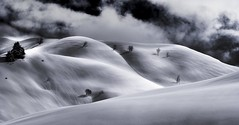 Col Joux Plane - Samoens - Alpes - France (belzebello) Tags: art sky ciel clouds paysage blackandwhite luminosity nature lumiere mountains montains noiretblanc france luminosite cloud alpes landscape amazing snow stones beautiful freedom bw light stone sony monochrome