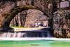 Over the bridge (GeologistAngler) Tags: bridge river waterfall water house nature landscape landscapephotography longexposure fiumemelfa roccasecca frosinone lazio ciociaria melfa torrente cascata fotografiapaesaggistica paesaggi rocce nikon nikond3300