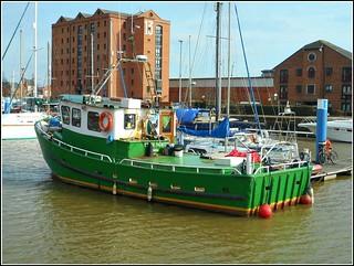 Hulls Former Railway Dock ..
