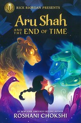 Aru Shah and the End of Time (Vernon Barford School Library) Tags: roshanichokshi roshani chokshi pandava 1 one first series supernatural adventure fantasy humor humour humorous fiction myth mythology hindu hindumythology indic indicmythology mythological antiquities blessingandcursing curse cursing cursed demonology honesty values virtues museums rickriordanpresents rickriordan vernon barford library libraries new recent book books read reading reads junior high middle school vernonbarford fictional novel novels hardcover hard cover hardcovers covers bookcover bookcovers 9781368012355