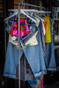 Clearance Rack (tim.perdue) Tags: clearance rack short north arts district columbus ohio colorful multicolored store shop consignment thrift jeans clothing clothes flickrfriday hangingoutclothes hanger