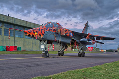 IMG_2251-53_HDR (Kev Gregory (General)) Tags: sepecat jaguar gr3a xx119 raf cosford 238 squadrons spotty registration formerly 54 sqn aircraft gd 6 eb coltishall