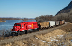Rolling Through Dakota (jterry618) Tags: sooline canadianpacific sd60 diesellocomotive sd603 railroad train engine car riversubdivision minnesota