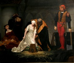 The Execution of Lady Jane Grey by Paul Delaroche (kitmasterbloke) Tags: guildhallartgallery london corporationoflondon city art museum victorian preraphaelite painting picture indoor