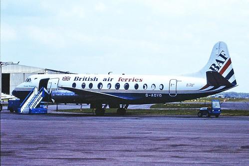 G-AOYO V Viscount BAF CVT 13-05-84