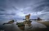Playa de Aguilar (tmuriel67) Tags: beach rocks waterscapes watercolors asturias nature ndfilters outdoors ocean