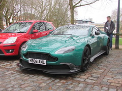 Aston Martin Vantage GT8 HB06AML (Andrew 2.8i) Tags: queen queens square bristol breakfast club show meet car cars classic v8 limited edition british super sports sportscar supercar gt gt8 vantage aston martin