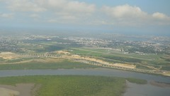 Airport Approach in Mombasa, Kenya (Greater Horn of Africa) Tags: mombassa transportation kenya airport port