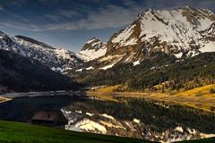 Sonnenaufgang 2 am Wägitalersee, Schweiz, Schwyz