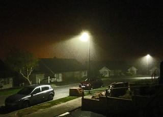 Three am on a misty morning
