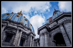 Petersdom Kuppel (birgitzehnder) Tags: petersdom kuppel