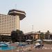 Yamoussoukro's iconic Hotel President