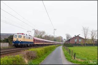 E10 1239 + Sonderzug, Rheine (D)