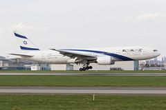 El Al Israel Airlines | Boeing 777-200ER | 4X-ECF | 15.04.2018 | Warsaw - Okecie (Maciej Deliś) Tags: el al israel airlines boeing 777200er b777 b772 4xecf warsaw chopin airport