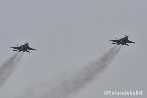 "Frisian Flag 2018: ""Smoke On"" Polish Air Force Mig-29A of 23Blt./1Elt."