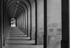 Historic Colonnade (iammattdoran) Tags: colonnade listed georgian king george pillars stone portland peters majestic civic pride council municipal authority offices walkway architecture vincent harris sony a6000 camera photography