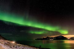 Norway Aurora (Ingo Sagoschen) Tags: aurora norway lofoten midnight long esposure winter cold gloomy