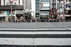 20180412 Ueno crossing (chromewaves) Tags: fujifilm xt20 xf 1855mm f284 r lm ois tokyo japan ueno