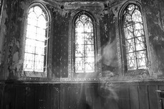 i'm a ghost (gersandeh) Tags: urbex hauntingplaces haunted ghost castlecalcifer châteaucalcifer urbexcastle urban exploration urbanexploration abandonedplaces abandoned abandonedcastle decaycastle decay urbexfrance urbexworld blackandwhite renegadeabandoned froggyexplorers sombrexplore