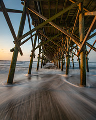 Breathe (APGougePhotography) Tags: pier southcarolina south carolina beach folly follybeach charleston chs sand water sun light nikon nikond800 d800 adobe adobelightroom lightroom
