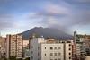 Sakurajima on a particular ashy day (Gerktography) Tags: day kagoshima kagoshimacity sakurajima ash city eruption kyushu rooftop sky volcano japan afternoon late