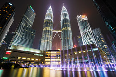 Petronas Twin Towers (Patrick Foto ;)) Tags: 2018 architecture asia asian built business capital center city cityscape construction corporate culture destinations development downtown editorial exterior famous fountain high horizontal journey kl klcc kuala landmark landscape lumpur malaysia modern morning night office outdoors park petronas place scene shopping sky skyline skyscraper structure tall tourism tower town travel twin urban vacations kualalumpur wilayahpersekutuankualalumpur my