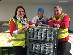 Visiting Yester Farm Dairies for Apprenticeship Week