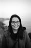 img279 (Adam Clark Photography) Tags: portrait blackandwhite black white ilford film analog camera rain sea droplets window snow light natural face girl woman canon sigma 35mm 85mm 14
