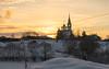 Церковь Успения Пресвятой Богородицы (Tatyana Yuganova) Tags: церковь валищево рассвет снег свет