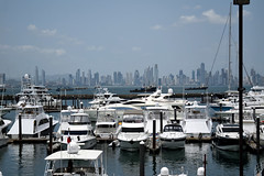 (Richard Par) Tags: panamacity panama centralamerica harbor yacht sailboat bay marina travel vacation city water sea boat skyline waterfront latinamerica