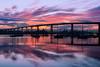 Purple Fire (scottdavenportphoto) Tags: bridge california cloud coronado coronadobridge landscape nature northamerica outdoor reflection sky structure sunrise unitedstates us
