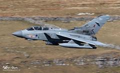 RAF Tornado GR4 ZA607 low level in Northern England (NDSD) Tags: low level panavia tornado gr4 cumbria yorkshire pennine pennines flying jet raf lake district plane aviation aircraft dales