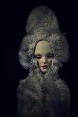 kokoshnik (dolls of milena) Tags: bjd abjd resin doll edria la legende de themps lldtt kokosnik portrait dark