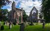 Dryburgh Abbey architecture (barnyz) Tags: dryburgh abbey gothic medieval graves scotland