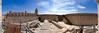 Urbisaglia - La rocca 03_8082-8086 (Promix The One) Tags: urbisagliamc marche rocca medioevale antichitã mura camminamento mattoni rovine scale interno campanile cielo nuvole blu fotopanoramica 5fotografie canoneos1dsmarkii canonef1635f4lisusm