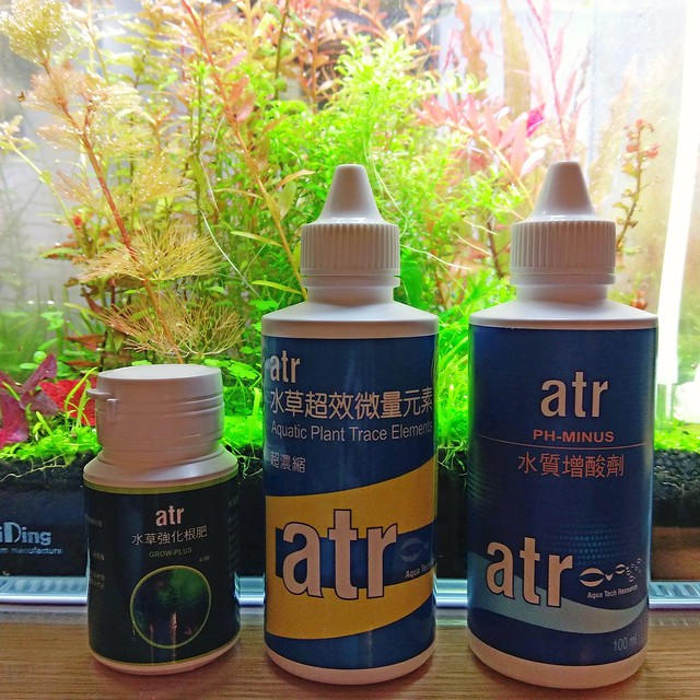 水草液肥、根肥、營養劑錠與除藻劑介紹