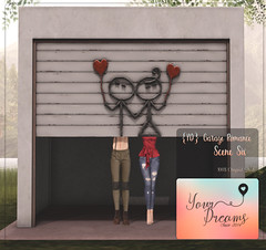 {YD} Garage Romance - Scene Six ({Your Dreams}) Tags: newdecortation yourdreams yourposes partner backdrop garage ironsculpture cute gacha