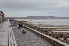 La digue de Wissant par un jour pluvieux (Olivier_1954) Tags: vacances france mer natureetpaysages balade capgrisnez wissant paysage plage séjour visite hautsdefrance fr