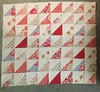 Quilt planning (janeych) Tags: quilt planning fabric kidston lauraashley bibi rosali ikea vintagelauraashley sewing makes quilting triangles cathkidston